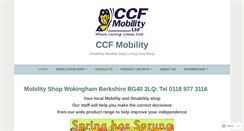 Preview of ccfmobility.co.uk